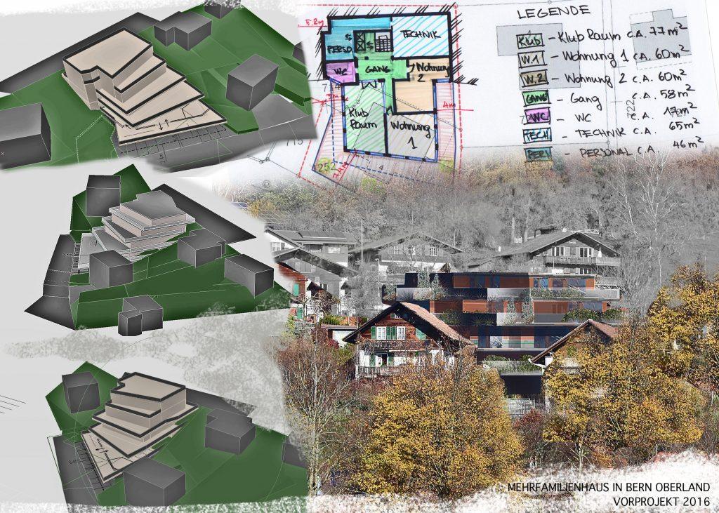 Neubau Mehrfamilienhaus, Vorprojekt
